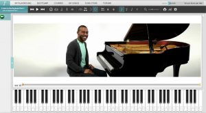 Piano sessions example of tuition video