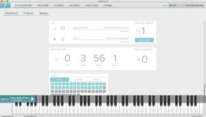 piano sessions dashboard image